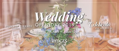 Wedding Open Day 2019