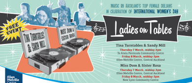Ladies on Tables - Free event for International Women's Day