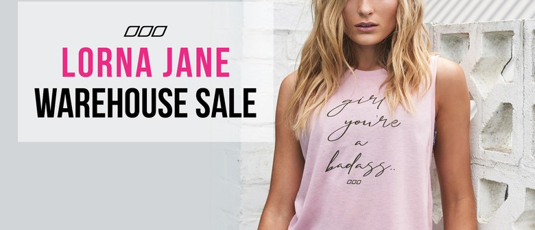LORNA JANE WAREHOUSE SALE - Queenstown
