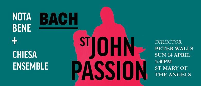 Nota Bene presents Bach's St John Passion