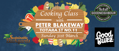 Cooking Class with Peter Blakeway