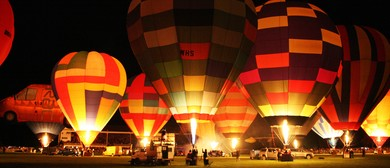 Wairarapa Balloon Festival - Trust House Night Glow