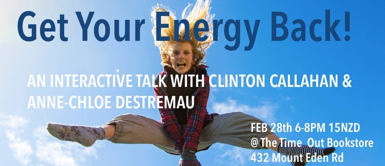 Get Your Energy Back!: CANCELLED