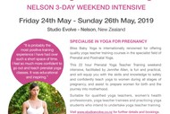 Image for event: Bliss Baby Prenatal Yoga Teacher Training