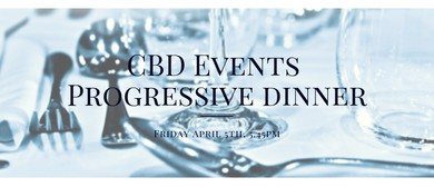 CBD Events Progressive Dinner