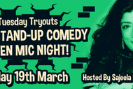 Image for event: Stand-Up Open Mic Night Hosted by Sajeela Kershi (UK)