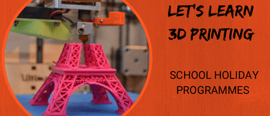 Let's Learn 3D Printing - Scratchpad Holiday Programme