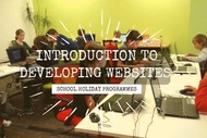 Image for event: Introduction to Developing Websites: Holiday Programme