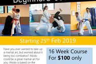Image for event: Aikido Beginners' Course