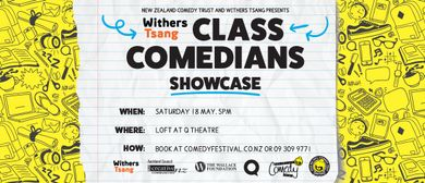 Withers Tsang Class Comedians Showcase