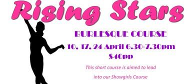 Rising Stars Burlesque Course