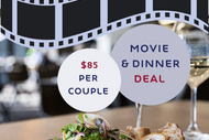 Image for event: Movie and Dinner Deal