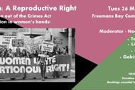 Image for event: Abortion: A Reproductive Right