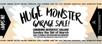 Monster Garage Sale