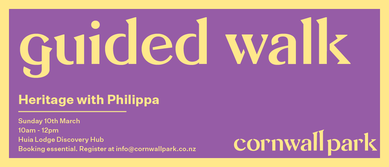 Guided Walk: Heritage With Philippa