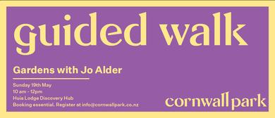 Guided Walk: Gardens with Jo Alder
