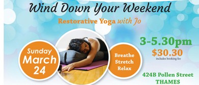 Wind Down Your Weekend Restorative Yoga