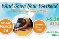 Image for event: Wind Down Your Weekend Restorative Yoga