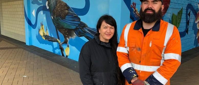 Westfield Manukau to Unveil Rerenga Mural