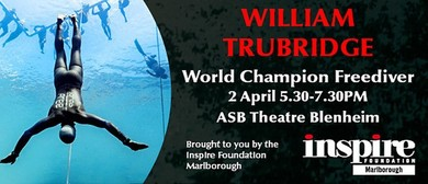William Trubridge - World Champion Freediver