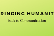Image for event: Bringing Humanity Back to Communication