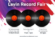 Image for event: Levin Record Fair