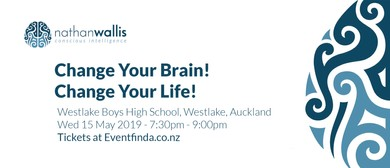 Change Your Brain! Change Your Life! Auckland: CANCELLED