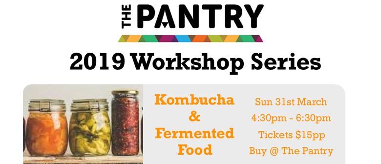 Kombucha & Fermented Food Workshop