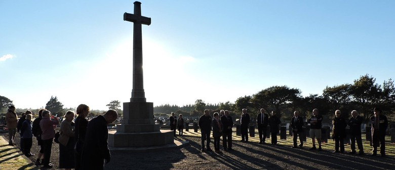 Featherston Anzac Day Cemetery Service