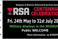 Waipawa & Districts RSA Centennial Celebration