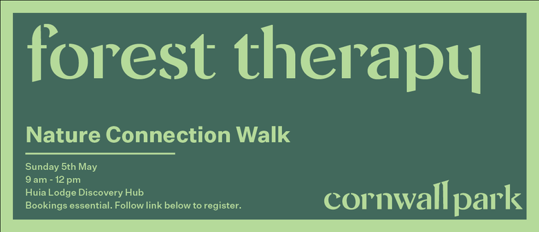Forest Therapy - Nature Connection Walk