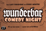 Image for event: Wunderbar Comedy Night