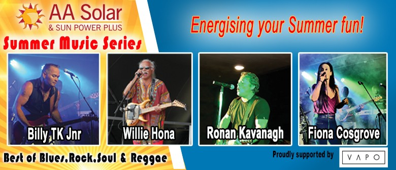 AA Solar Summer Music Series with Billy TK & Willie Hona: CANCELLED