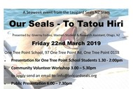 Image for event: Leopard Seals Event for Seaweek