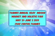 Image for event: Thames Annual 4 Day Indoor Market & Holistic Fair