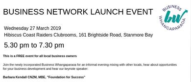 Business Whangaparaoa Network Launch