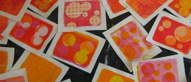 Printmaking with Gelatin – Weekend Workshop