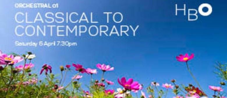 Classical to Contemporary