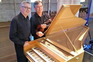 Image for event: Harpsichord & Violin Duo by Douglas Mews & Gregory Squire