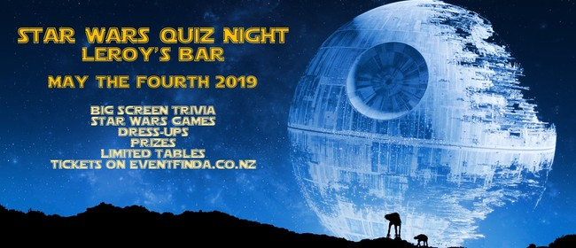 Star Wars Quiz Night - May the Fourth