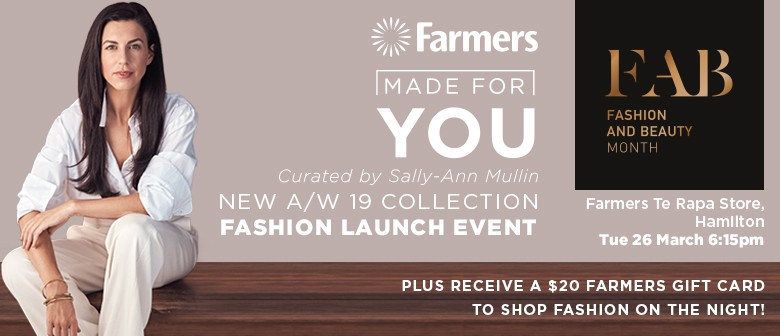 'Fashion Made For You' - Curated by Sally-Ann Mullin