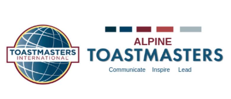 Alpine Toastmasters Meeting