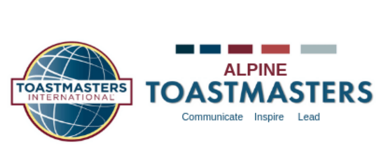 Alpine Toastmasters Meeting