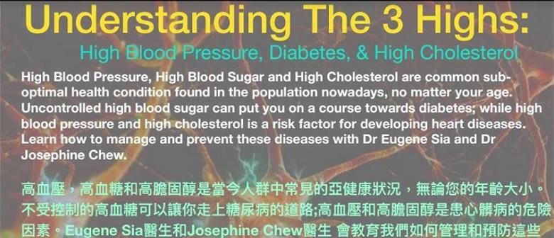 Understanding the 3 Highs - Hypertension? High Blood Sugar?