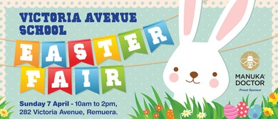 Victoria Avenue School Easter Fair