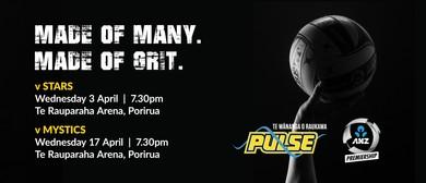 Te Wananga o Raukawa Pulse vs Stars