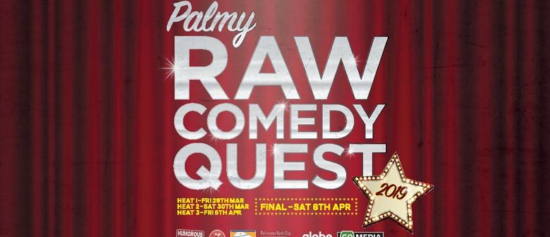 Hawkes Bay Raw Comedy Quest 2019