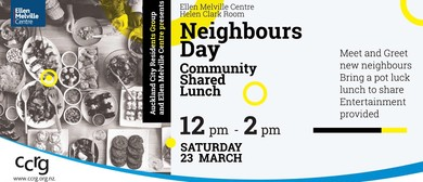 Neighbours Day Shared Community Lunch