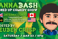 Image for event: Cannabash Stoned Up Comedy - International