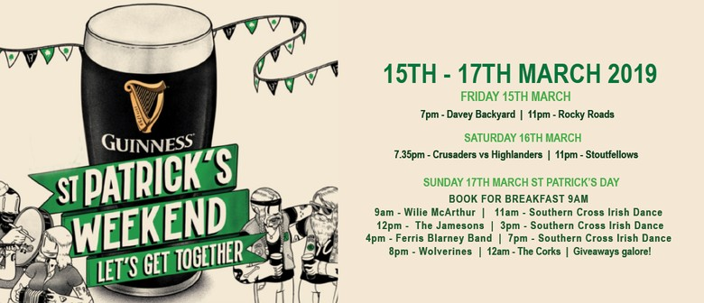 The Bog St Patrick's Day